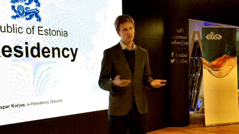 27-vuotias Kaspar Korjus johtaa Viron e-kansalaisuushanketta.