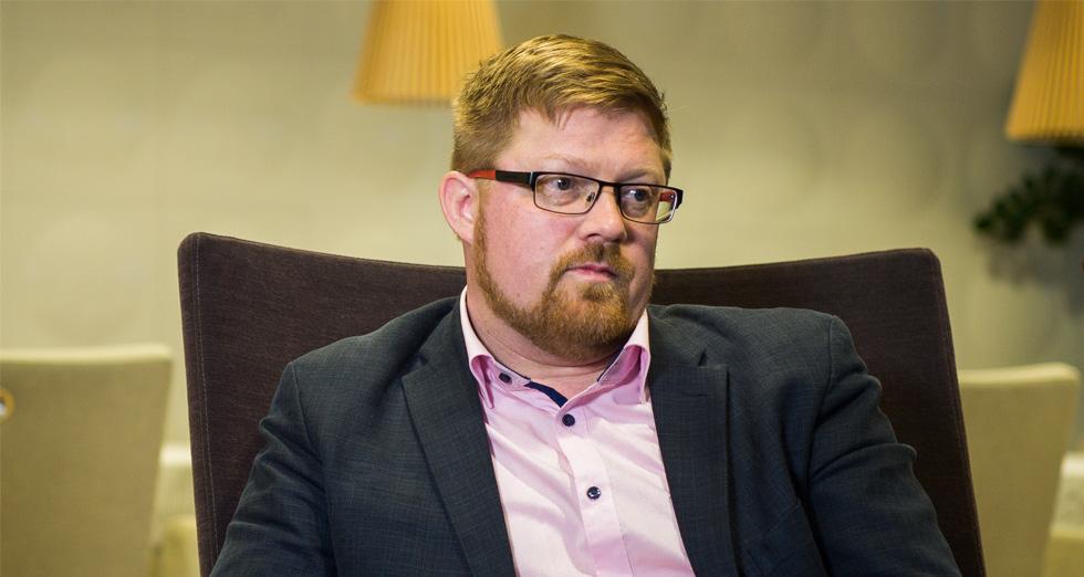 F-securen kyberturvallisuuden neuvonantaja Erka Koivunen.