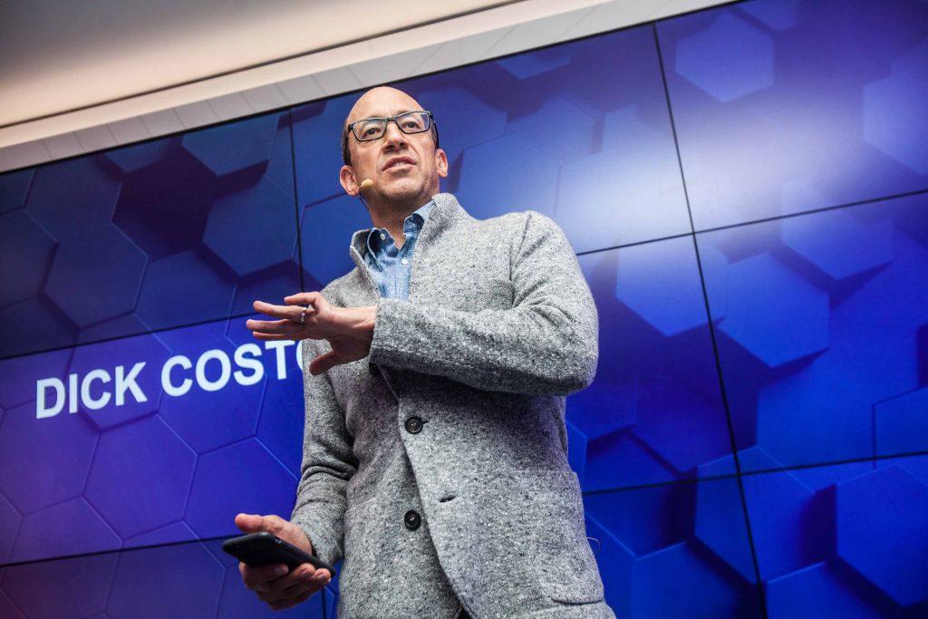 """""""On siis monta erilaista tapaa innovoida menestyksekkäästi"""", sanoo Dick Costolo."""