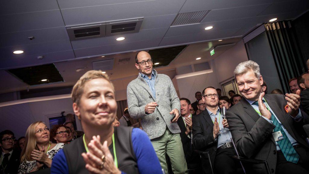 Twitterin ex-pääjohtaja Dick Costolo puhui suomalaisyritysten johdolle Elisan Executive Forum -tapahtumassa.