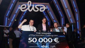 IqBox-kylmäpostilaatikko voitti Elisa Innovation Challenge 2017 -kilpailun