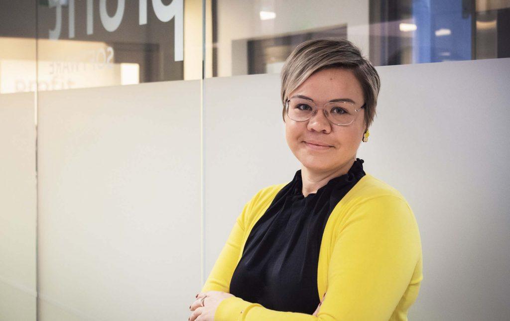Linda Strömsten etätyö Profit Sofware